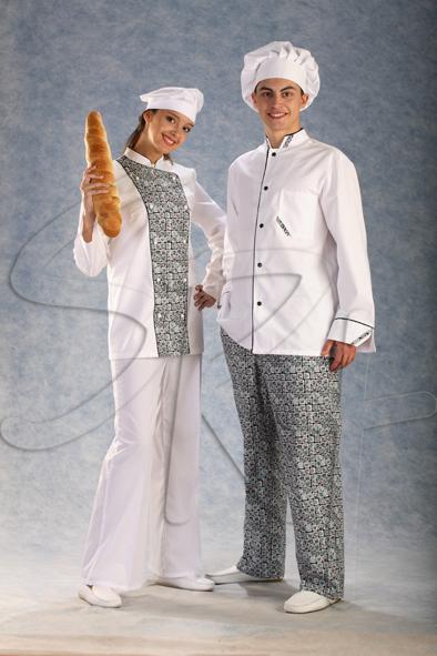 Одежда для поваров, официантов, продацов