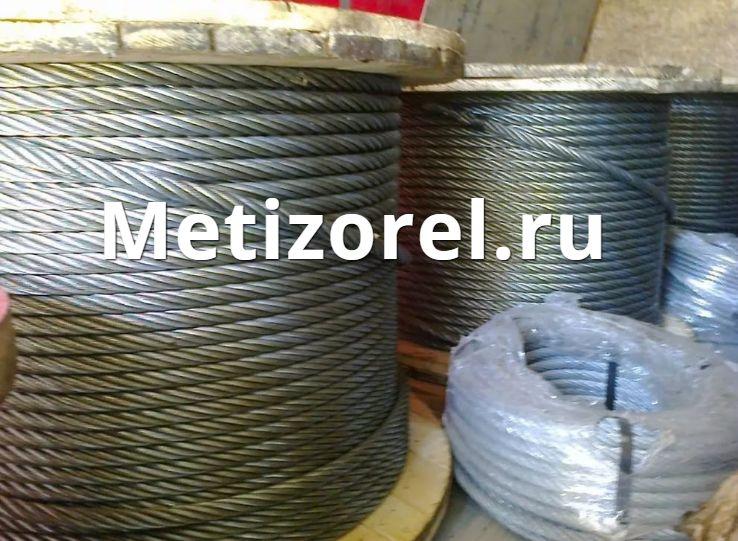 Канат для буровой установки, нефтяных и газовых скважин ГОСТ 16853-88 трос типа ЛК-РО