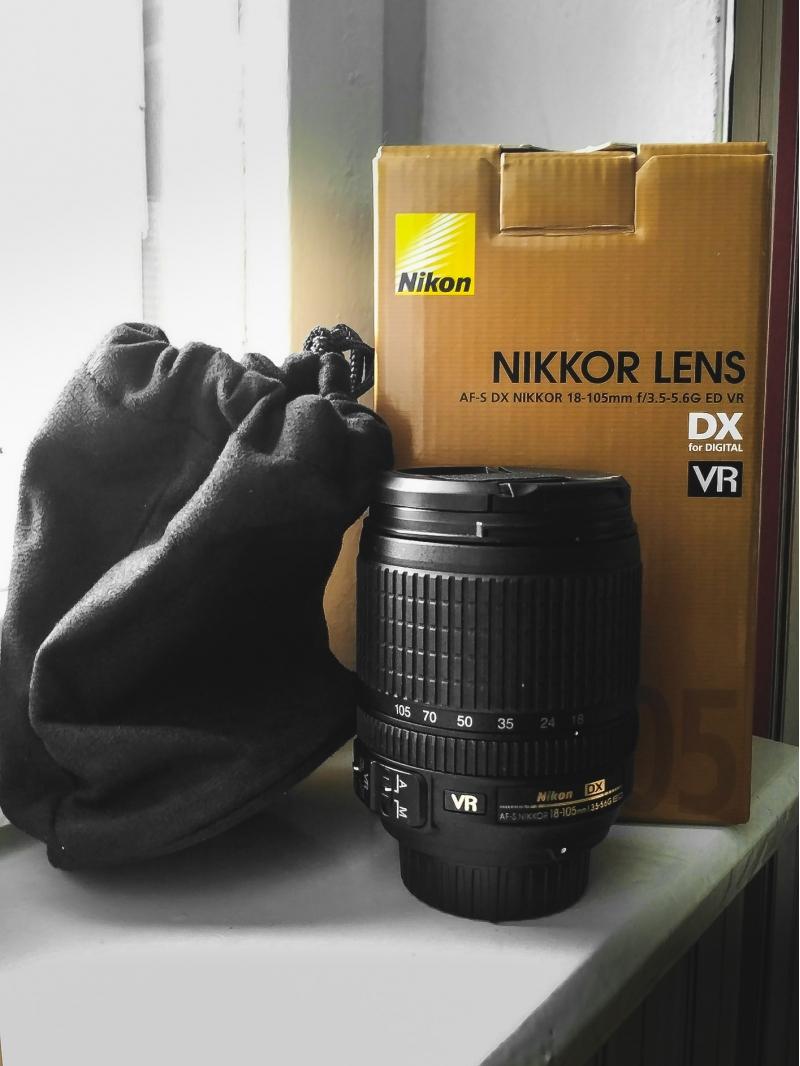 Объектив Nikon nikkor 18-105mm f3.5-5.6G AF-S