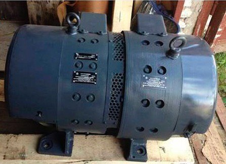 Двухмашинный агрегат мвт259мвг2511